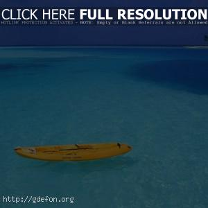 Море, берег, лодка