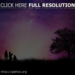 Пурпурный закат