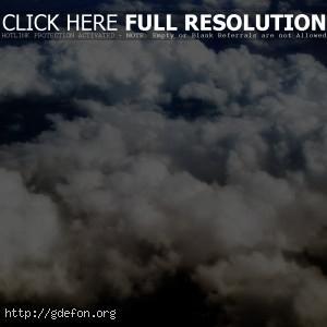 Кудрявые облака