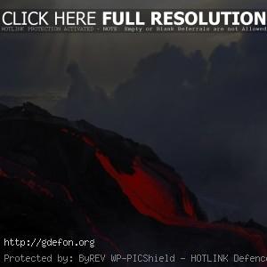 Вулкан, лава, извержение