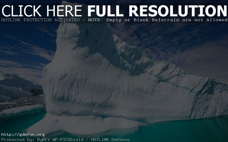 Обои айсберг, снег, лед фото картики заставки