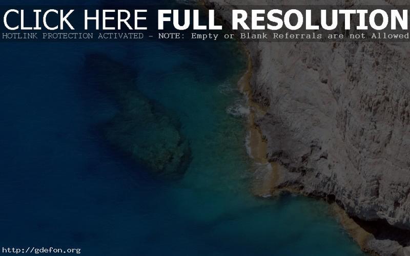 Обои волны, море, скала фото картики заставки