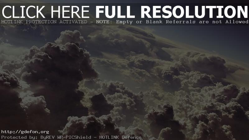 Обои над облаками фото картики заставки
