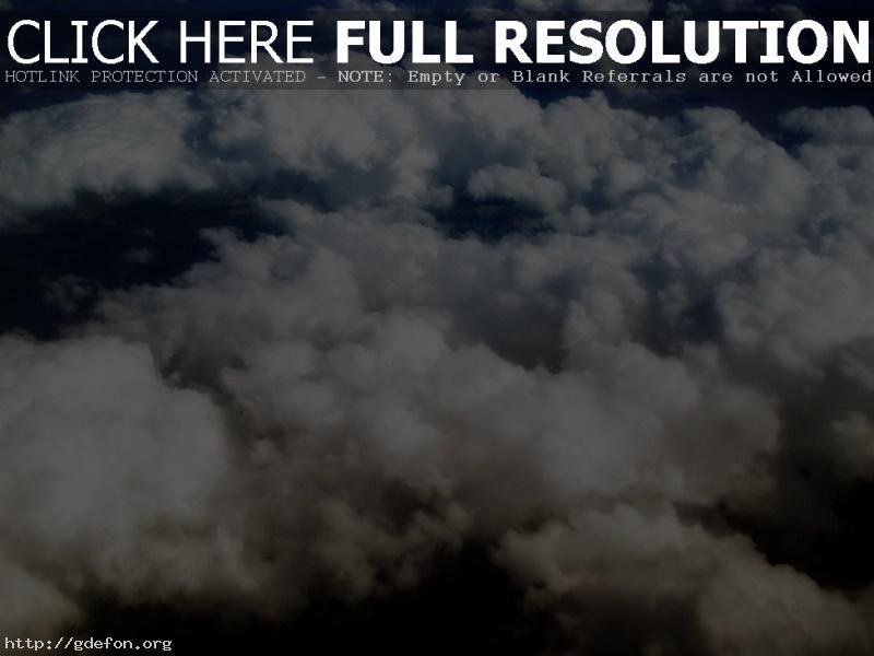Обои Кудрявые облака фото картики заставки