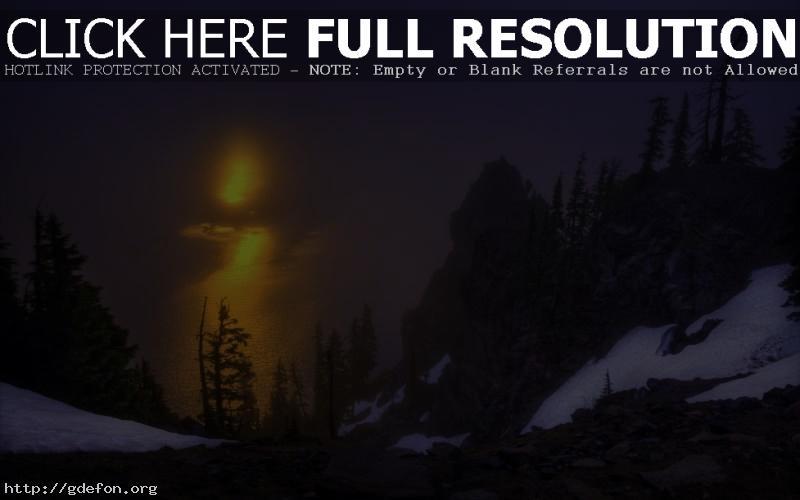 Обои crater lake national park фото картики заставки