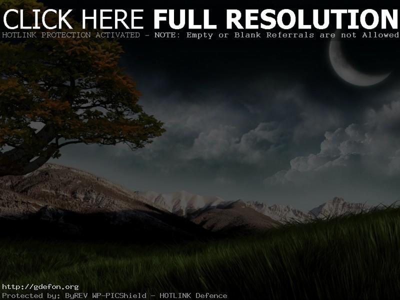Обои Сказочный пейзаж фото картики заставки
