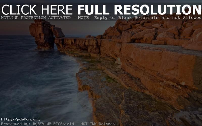 Обои скала, море, обрыв фото картики заставки