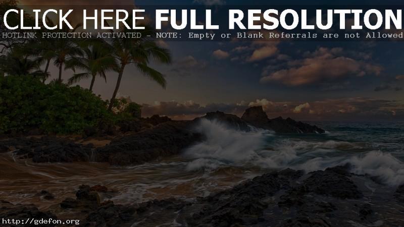 Обои Океанский прибой фото картики заставки