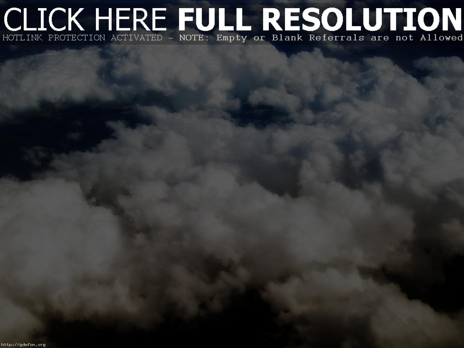 Кудрявые облака обои на рабочий стол