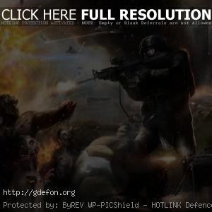 Спецназ и зомби