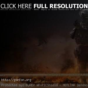Из игры — Call of Duty: Modern Warfare 2
