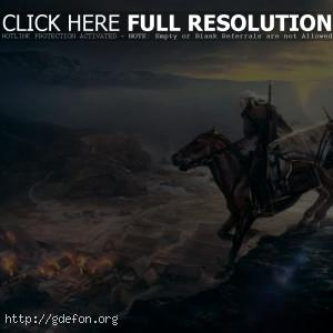 Геральд на верхом на коне