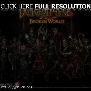 Герои из Dungeon Diege 2 Broken World