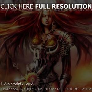 Blood Magic — Красноволосая