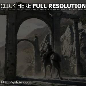 Assassin Creed на коне