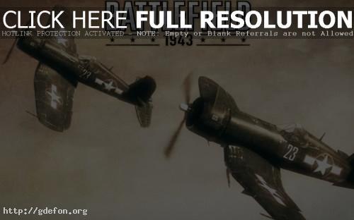 Обои Battlefield 1943 фото картики заставки