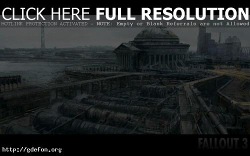 Обои Fallout 3-2 фото картики заставки