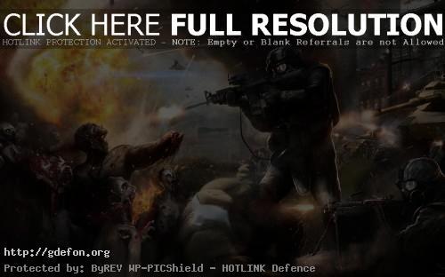 Обои Спецназ и зомби фото картики заставки