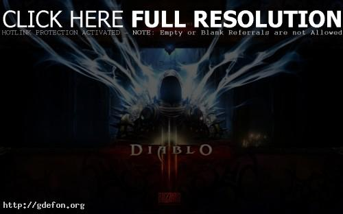 Обои Diablo 3 фото картики заставки