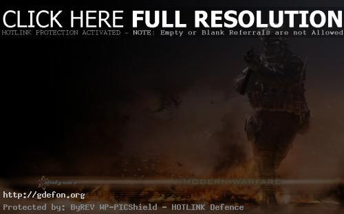 Обои Из игры — Call of Duty: Modern Warfare 2 фото картики заставки