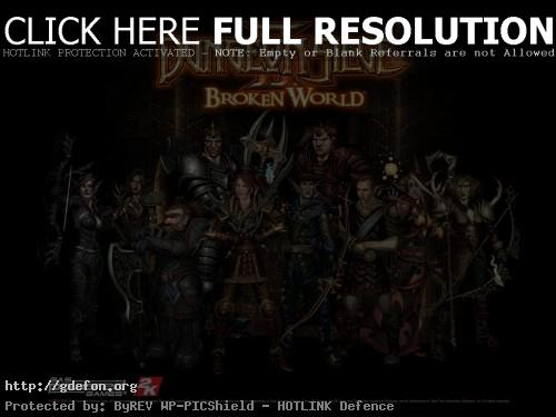 Обои Герои из Dungeon Diege 2 Broken World фото картики заставки
