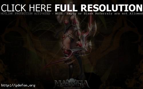Обои Лучница Maestia фото картики заставки