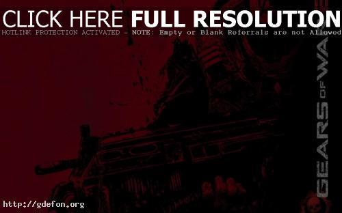 Обои Gears of War 2-2 фото картики заставки