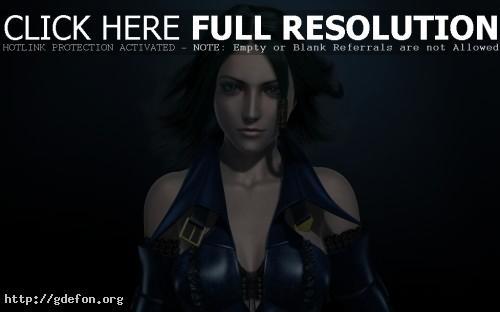 Обои Bullet witch, Девушка в синем фото картики заставки