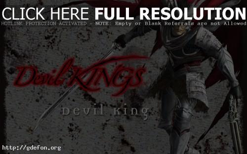 Обои Devil king фото картики заставки