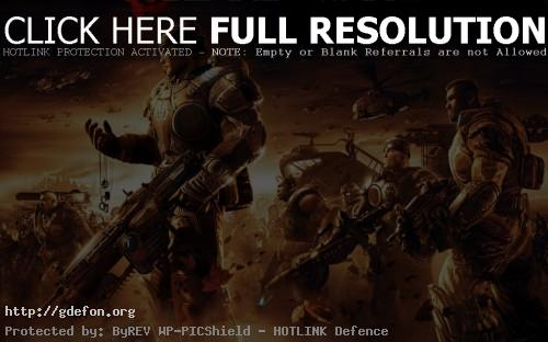 Обои Gears of War 2-5 фото картики заставки