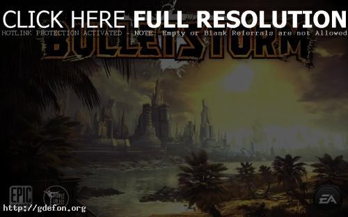 Обои Bulletstorm фото картики заставки