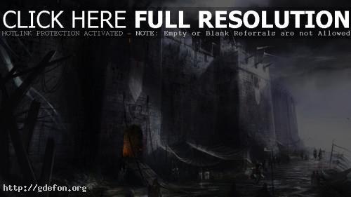 Обои Крепость фото картики заставки