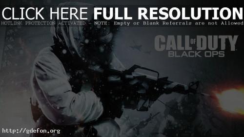 Обои Call of Duty Black Ops фото картики заставки