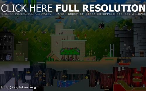 Обои Весь мир Super Mario фото картики заставки