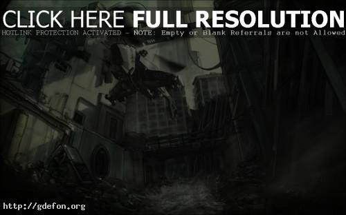 Обои City 17 из Half Life фото картики заставки