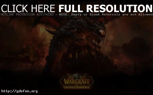 Обои World of Warcraft фото картики заставки