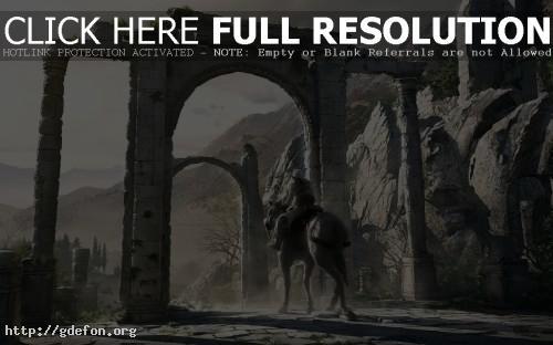 Обои Assassin Creed на коне фото картики заставки