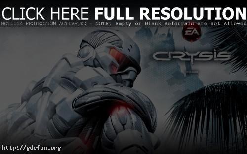 Обои Crysis фото картики заставки