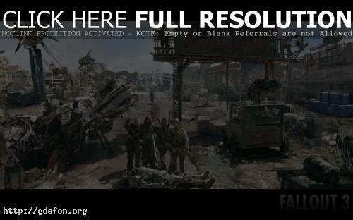 Обои Fallout 3-3 фото картики заставки