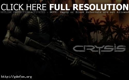 Обои Crysis 1 фото картики заставки