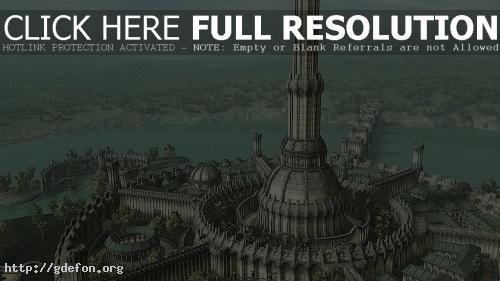 Обои Башня Белого Золота фото картики заставки