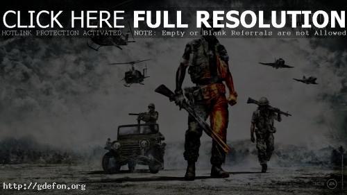 Обои Battlefield Bad Company 2 Vietnam фото картики заставки