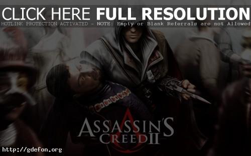 Обои Assassins Creed 2 фото картики заставки