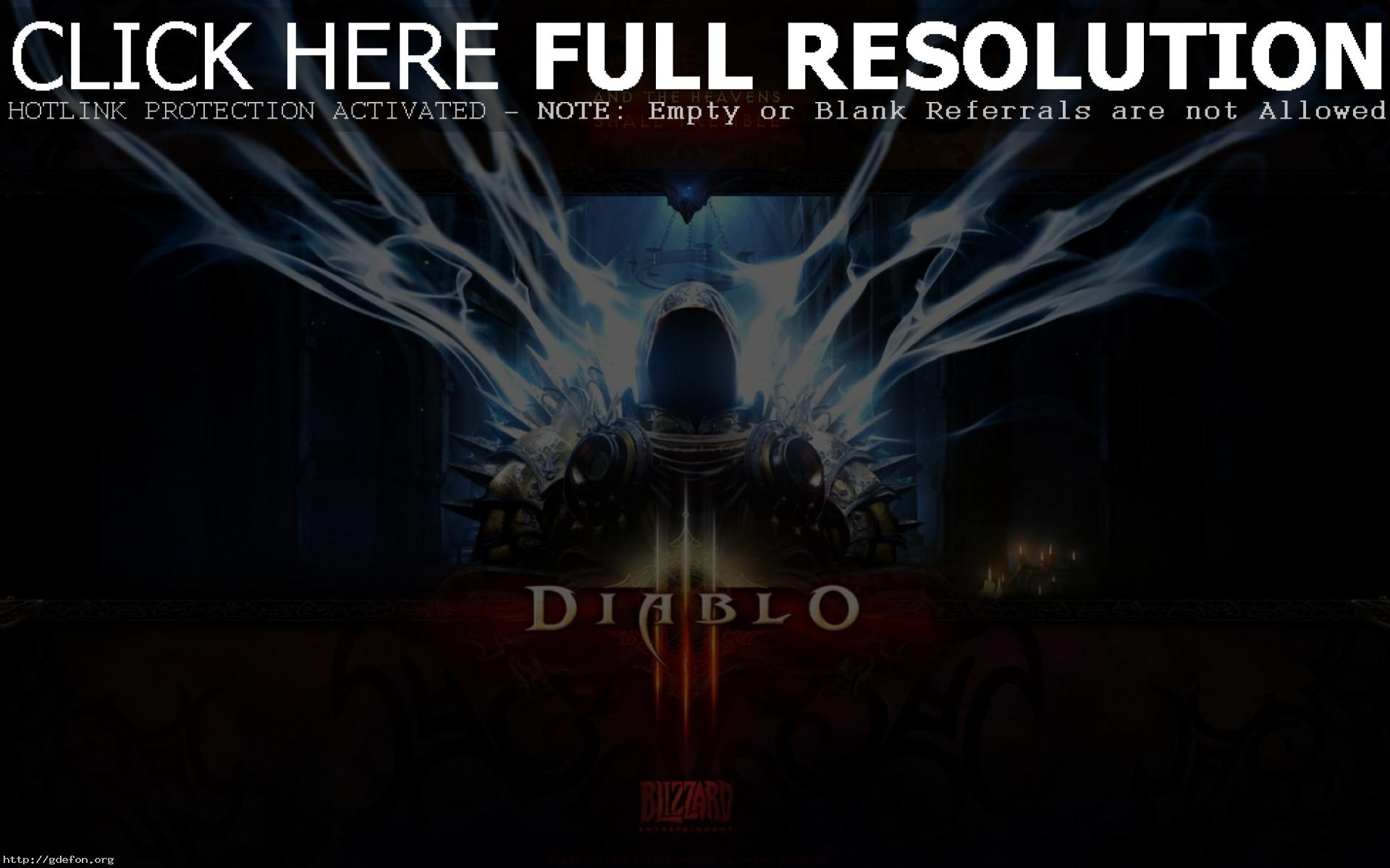 Diablo 3 Обои На Рабочий Стол 1920х1080