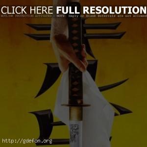 Убить билла, меч, самурай, япония
