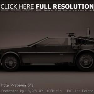 DeLorean машина времени