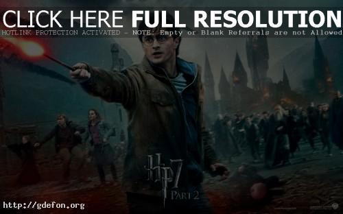 Обои Гарри Поттер и Дары Смерти 2 фото картики заставки