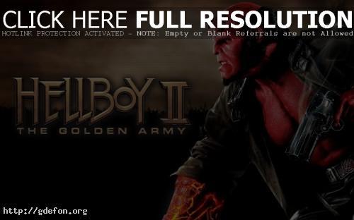 Обои Hellboy фото картики заставки