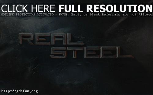 Обои Real Steel фото картики заставки