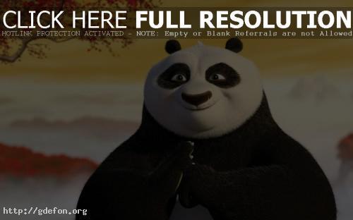 Обои Панда кунг-фу фото картики заставки
